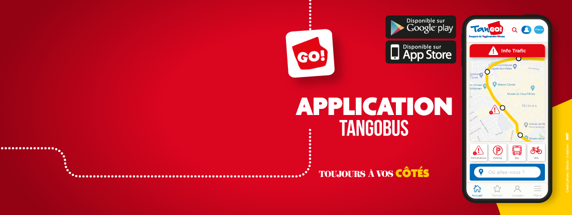 visuel application tango
